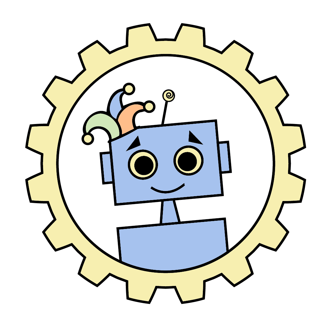 Trinculo the drunken robot - our very first logo!